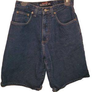quiksilver quik jean short dark blue 31
